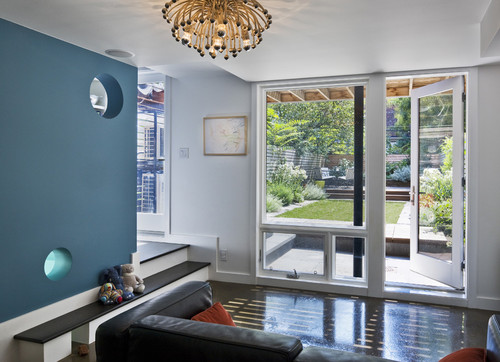 What is the name of the beautiful blue wall color? - Houzz