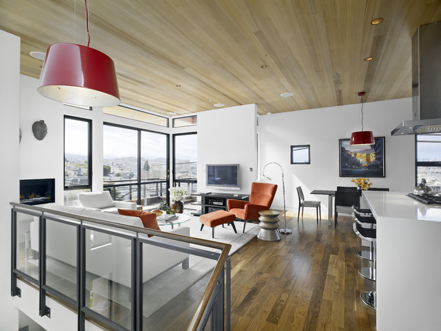 Bernal Heights Residence contemporary-family-room