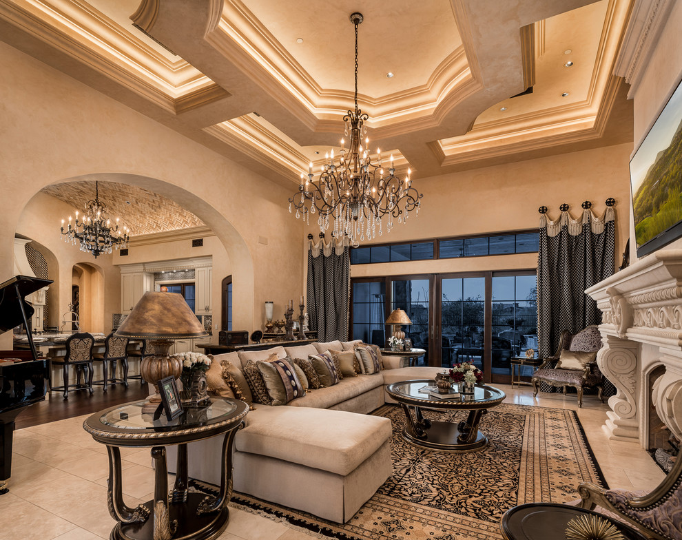 Best Designed Homes In America By Architecture Firm Fratantoni Design G Rustic Family Room Phoenix By Fratantoni Design Architecture And Interior Design
