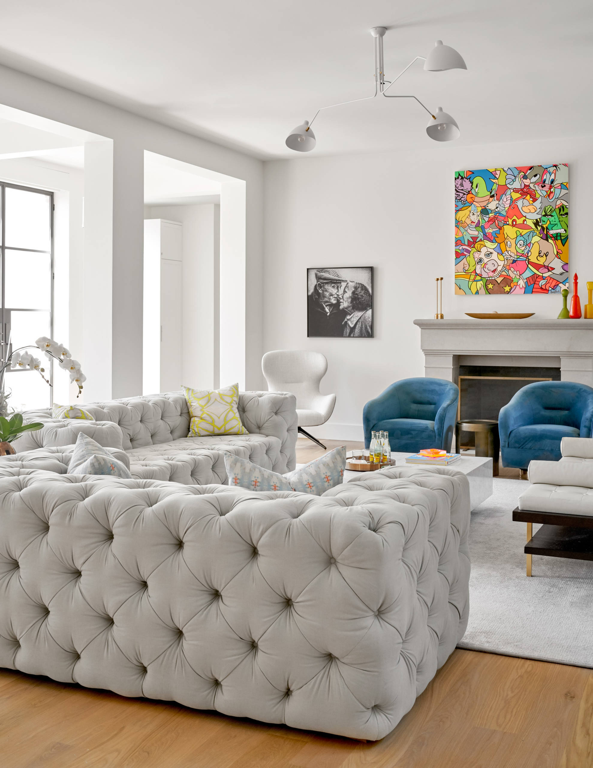 Living Room Furniture With Accent, Living Room Accent