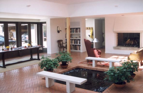 Beverly Shores Addition contemporary-family-room