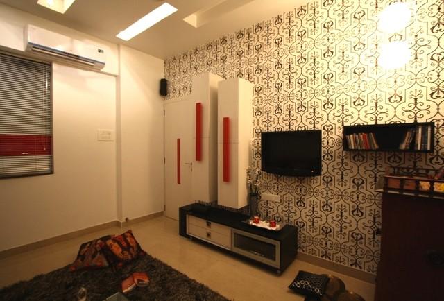 bhuva house contemporary-family-room