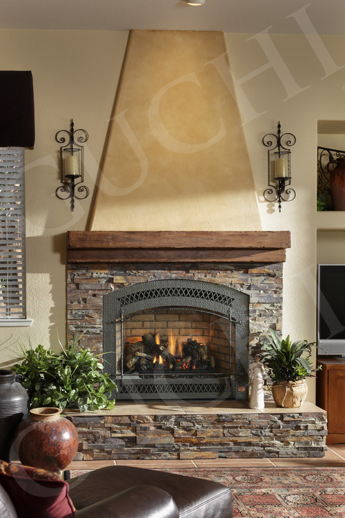Type Of Stone In Fireplace Surround