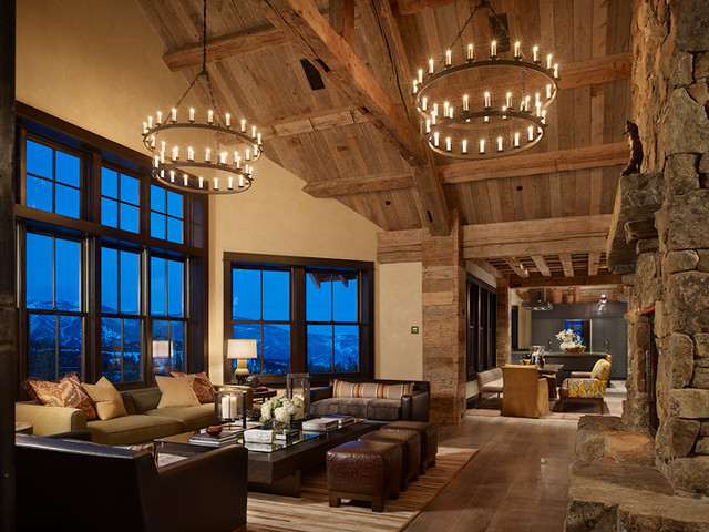 Big Sky Ranch eclectic-family-room