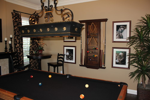 Little Accessories Really Make It Feel Like A Pool Hall    A Nice Pool Hall  That Is.
