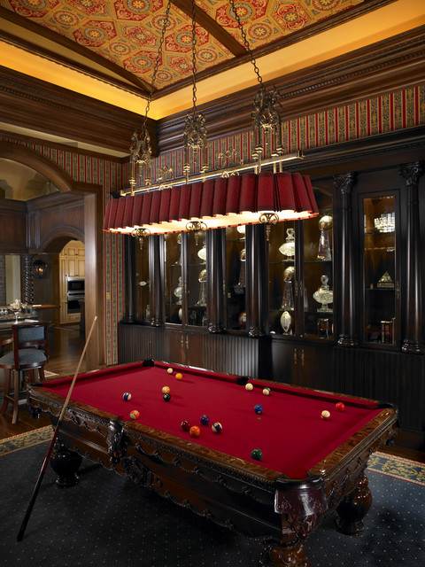 Billiard Room In The Tourmaline By Tampa New Home Builder