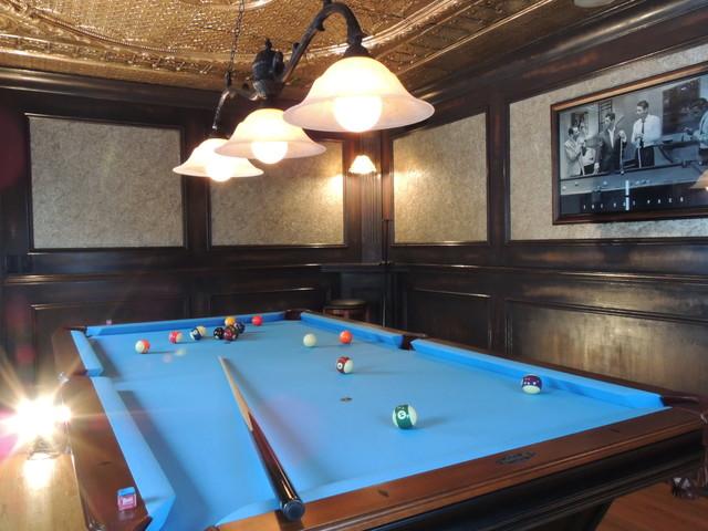Billiard Room traditional-family-room