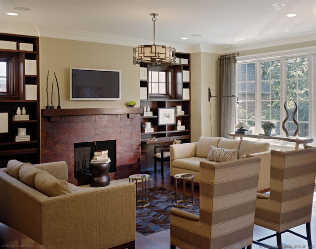 Birmingham Showhouse traditional family room
