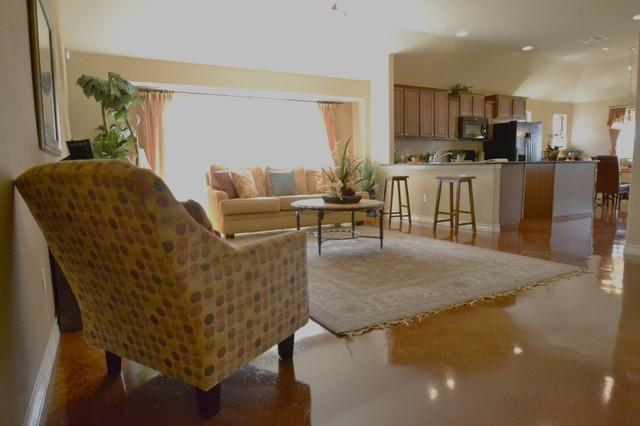 Blanco Vista Kyle TX - Pacesetter Homes modern-family-room