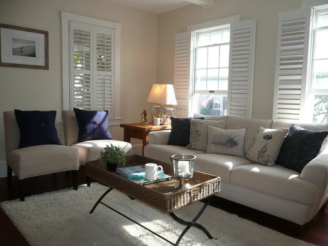 Blaney Circle, Swampscott, MA - Beach Style - Family Room ...