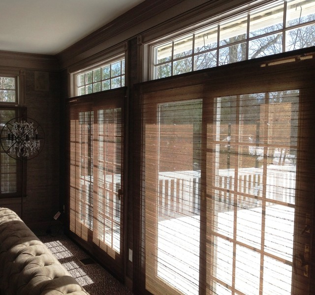 Blinds & Shades contemporary-family-room