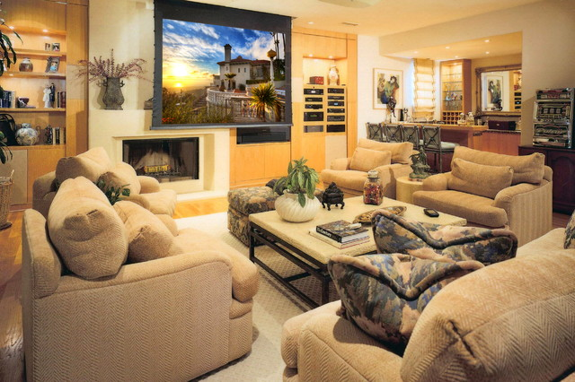 Bliss Home Theaters & Automation, Inc. - www.BLISSHTA.com contemporary-family-room