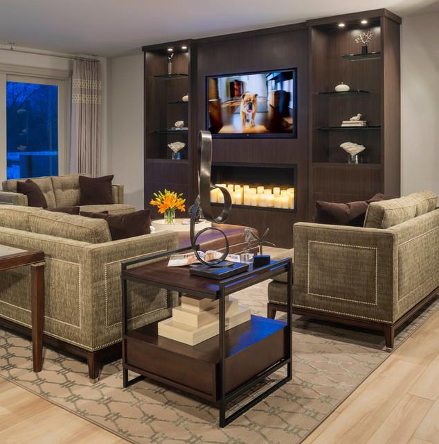 Bloomfield Renovation - Contemporary - Family Room ...