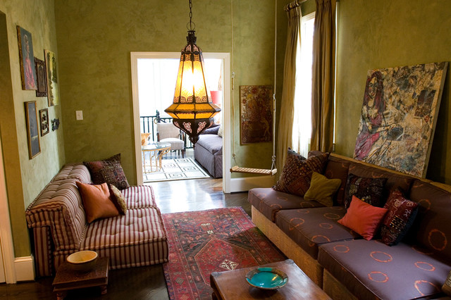 Blount Design eclectic family room