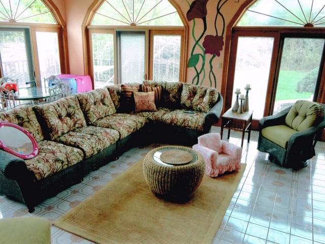 Blue Bell Eclectic Family Room Philadelphia By Bella Home Decor Llc
