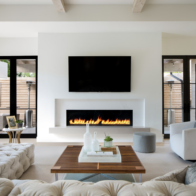 Houzz Fireplace Ideas: Bob-O-Link