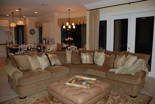 Boca Raton New Traditional traditional-family-room