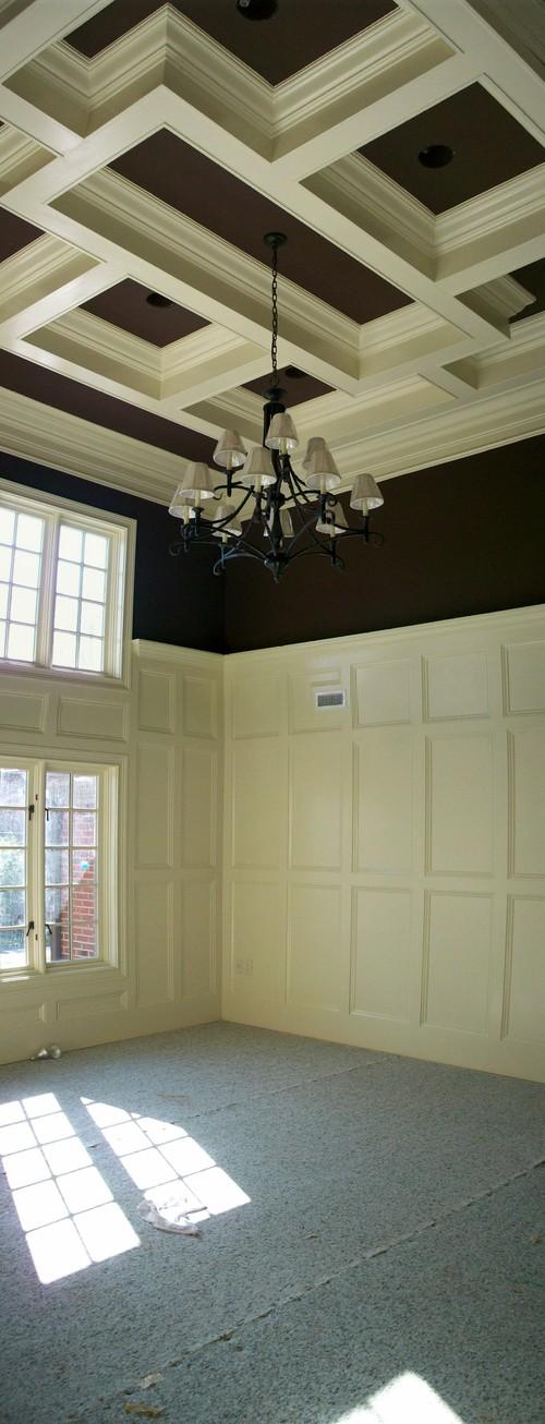 Bonus Room Ceiling Detail traditional family room