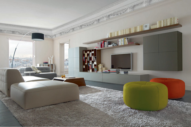 book look modular wall unit by ligne roset. Black Bedroom Furniture Sets. Home Design Ideas