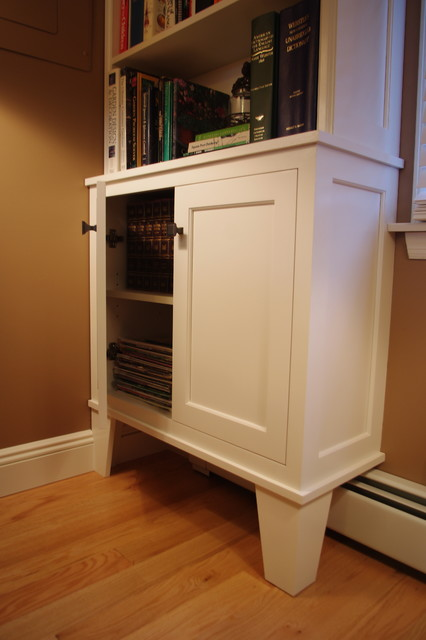 Bookcases - Eclectic - Family Room - new york - by Rylex Custom Cabinetry and Closets