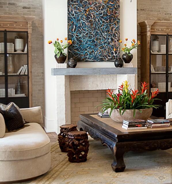 Bradford Collier Interior Design Houston West University 1 Nyklassisk Alrum Houston Af