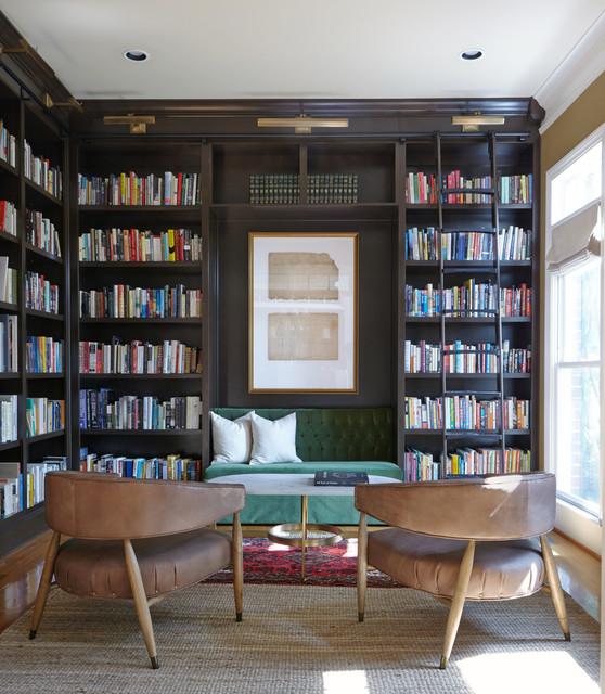 Library - Moderne Klassik - Wohnzimmer - nashville - von ...