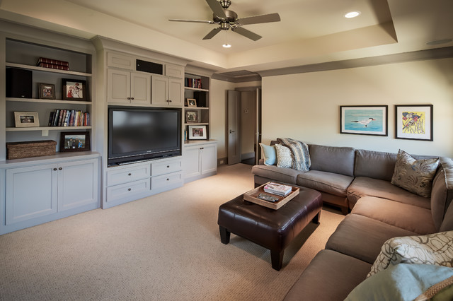 Briar Rose Traditional Family Room Houston By