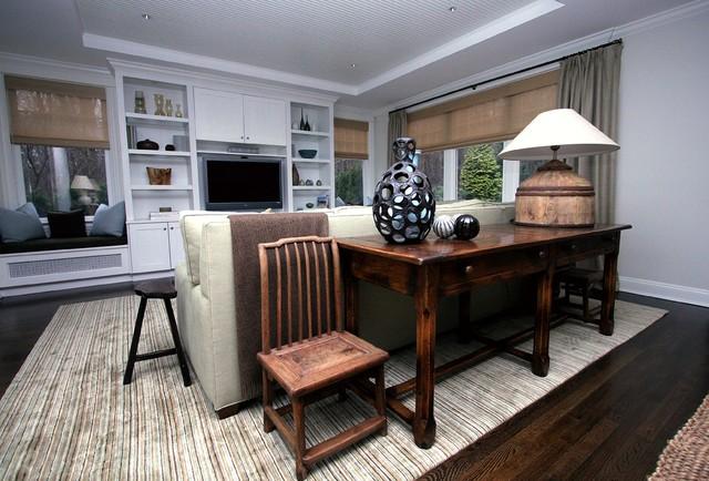 Bridgehampton Classic beach-style-family-room