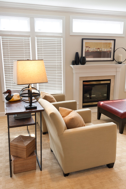 Bright & Casual Family Room eclectic-family-room
