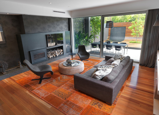 Brighton Home contemporary family room