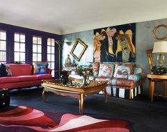 Brillig Manor: Family Room eclectic-family-room