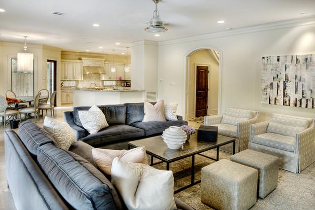 Brito Family Room contemporary-family-room
