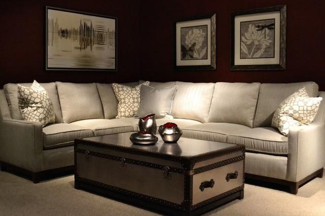Britt Carter u0026 Co. C.R. Laine Sectional contemporary-family-room : carter sectional sofa - Sectionals, Sofas & Couches