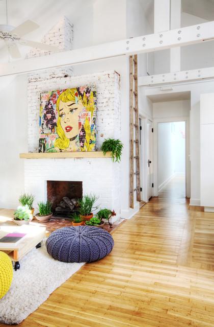 Broad Ripple Bungalow - Modern - Wohnzimmer - Indianapolis ...