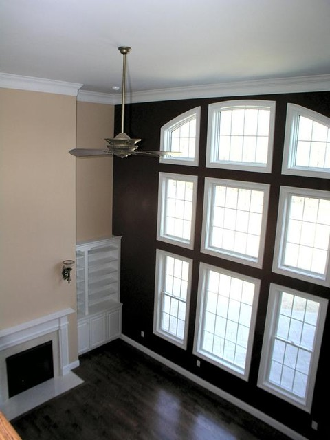 BROM Builders traditional-family-room