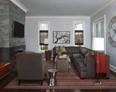 Brookdale Den contemporary-family-room