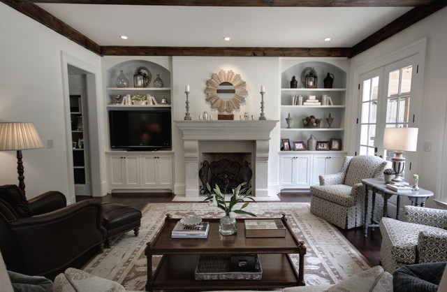 Brookhaven transitional-family-room
