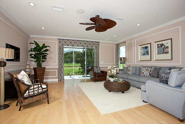 Brookland by Standard Pacific Homes (Model Home) traditional-family-room