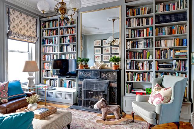 Brooklyn Brownstone Viktorianisch Wohnzimmer