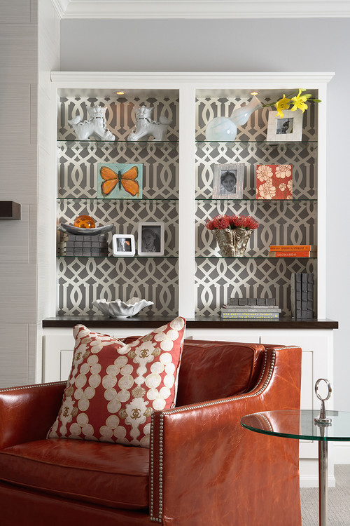 eclectic family room The Dos and Donts of Wallpaper