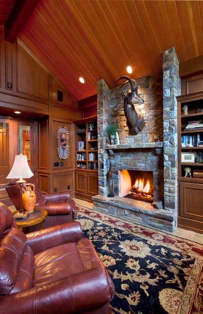 Bruce Residence traditional-family-room