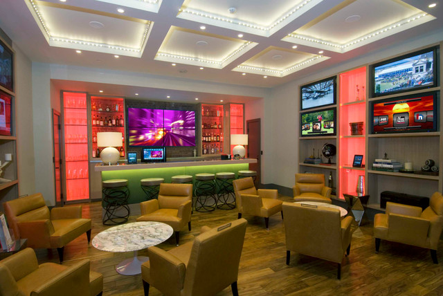Brunswick game room in houston texas contemporary for Room smart furniture houston