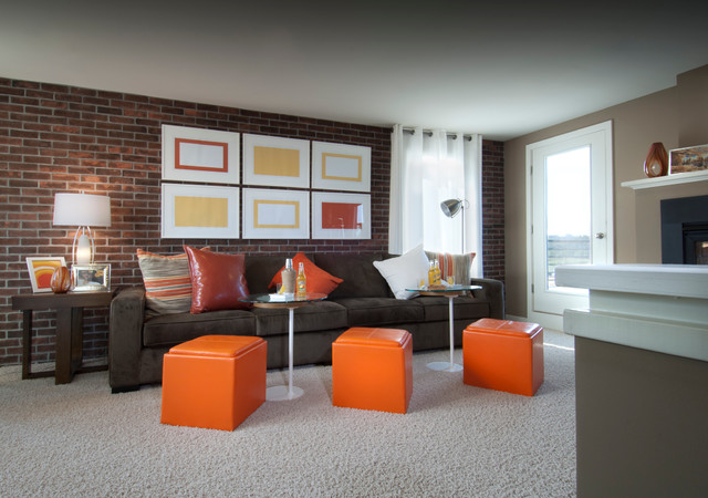 Bryant At Mosaic Eclectic Family Room Dc Metro By Carlyn And Company Interiors Design