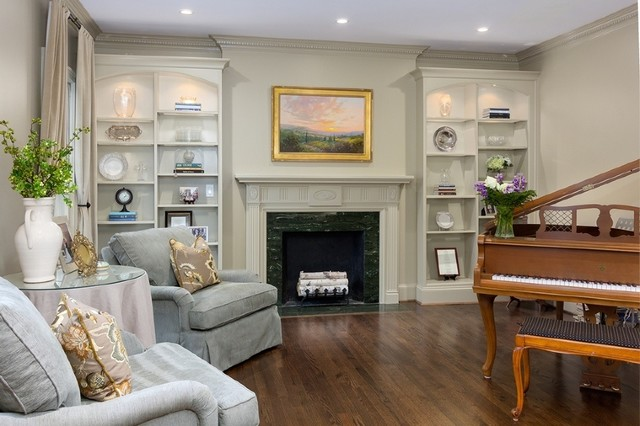 Buckhead Atlanta Home - Traditional - Family Room ...
