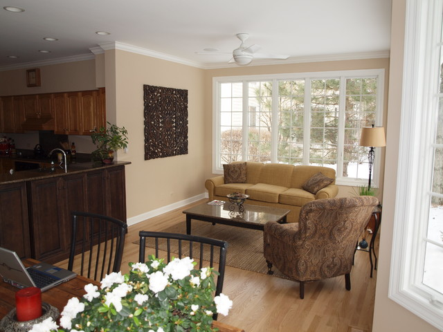 Budget Conscious Sunroom Addition Traditional Family Room