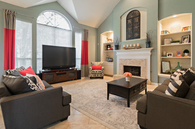 Budget Decorating Southlake TX Transitional Family