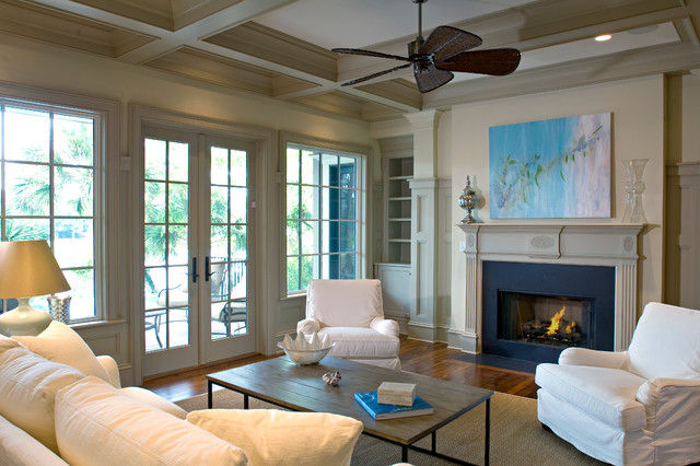Bufflehead traditional family room