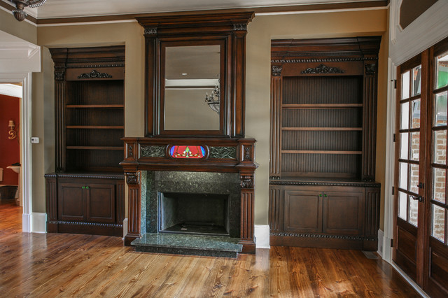 Built Ins Traditional Family Room Atlanta By