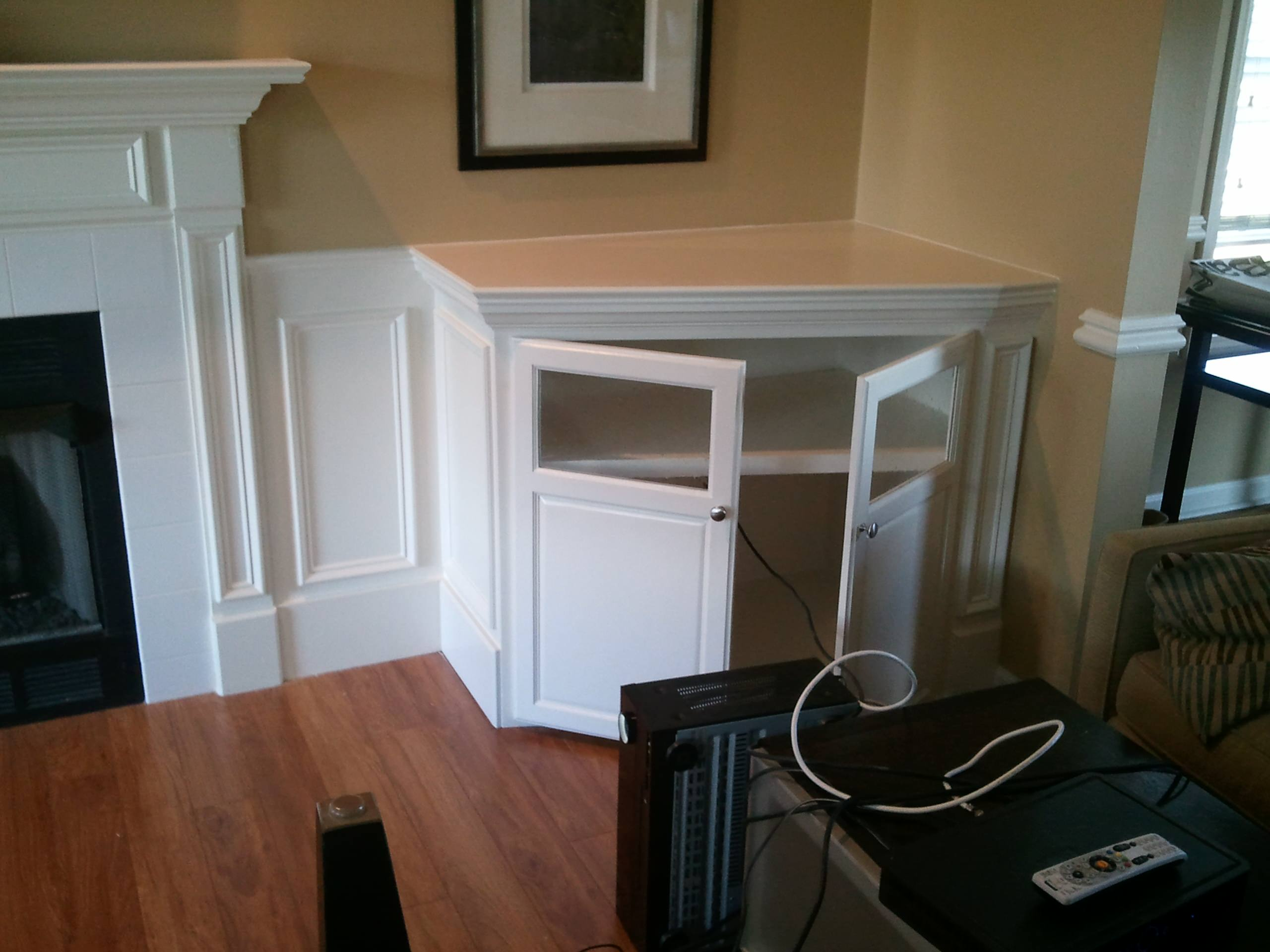 Built Ins To Surround Fireplace