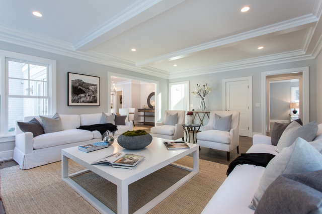 Bumble Bee Family Room Transitional Family Room New York By Sir Development